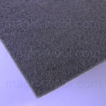 фетр 3мм 75см*50см полиэстер серый