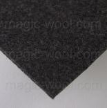 фетр 3мм 75см*50см полиэстер серо коричневый меланж