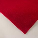 фетр 3мм 75см*50см полиэстер красный