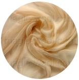 шарфы шелковые окрашенные однотонные и с переходами бежевый