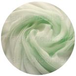 шарфы шелковые окрашенные однотонные и с переходами мята