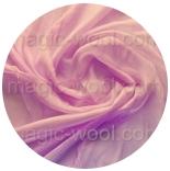 шарфы шелковые окрашенные однотонные и с переходами мальва