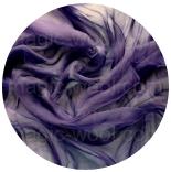 шарфы шелковые окрашенные однотонные и с переходами чернильный