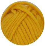 ровница, шерстяная пряжа для валяния канарейка