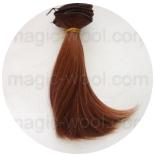 волосы для кукол золотистый русый №30