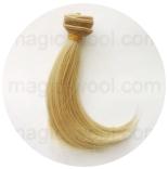 волосы для кукол блонд №86