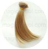 волосы для кукол блонд №27