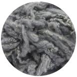 кудри окрашенные флис для фактуры серый