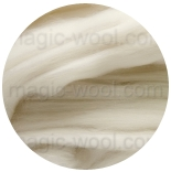 aвстралийский меринос фабрики DHG Италия 18 мкм натурально белый