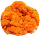кудри окрашенные флис для фактуры апельсин