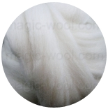 меринос натуральный (merino) + бленды меринос натурально белый 24мкм