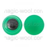 глазки для игрушек подвижные зеленые 12мм