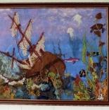 книги и мастер классы руководство по изготовлению картины из шерсти Тайна Карибского моря
