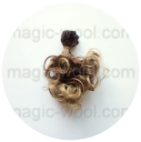 волосы для кукол кудрявые локоны 004
