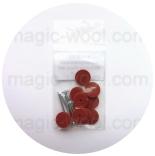шплинты, диски, шайбы и другие крепежи для игрушек набор для миника fibre 12мм