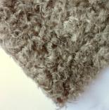 мех для игрушек мохер 22мм кудрявый серый