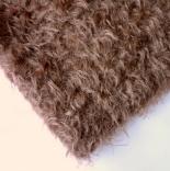 мех для игрушек мохер 22мм кудрявый коричневый