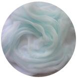 шарфы шелковые окрашенные однотонные и с переходами нежный аквамарин