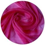 шарфы шелковые окрашенные однотонные и с переходами малина