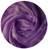 шарфы шелковые окрашенные однотонные и с переходами ежевичный