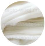 меринос натуральный (merino) + бленды меринос натурально белый 18мк
