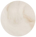 aвстралийский меринос фабрики DHG Италия 16мкм натурально белый