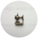 подвески металлические швейная машинка 11мм*14мм античная бронза 3D