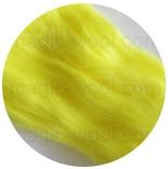 вискоза для валяния лимон матовый