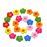 пуговицы декоративные цветок ассорти 01