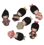 пуговицы декоративные японочка