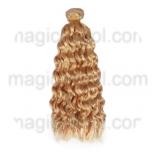 волосы для кукол золотистые