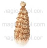 волосы для кукол блондинистые