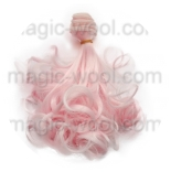 волосы для кукол кудрявые локоны розовые