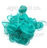 волосы для кукол кудрявые локоны бирюза зеленая
