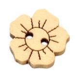 пуговицы декоративные цветок 03