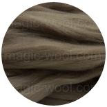 меринос фабрики IDEEN Германия 19,5 мкм серо коричневый
