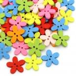 пуговицы декоративные цветок ассорти 02