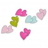 пуговицы декоративные двойное сердце