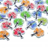 пуговицы декоративные дерево