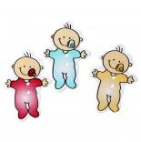пуговицы декоративные младенец с соской