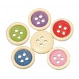 пуговицы декоративные круглая цветная 02