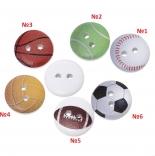 пуговицы декоративные футбольный мяч