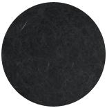 кардочесанная шерсть Маори (Италия) 25-27мкм графит