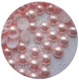 бусины половинками нежно розовый 6мм