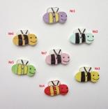 пуговицы декоративные пчелка ассорти