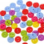 пуговицы декоративные круглая цветная 6мм