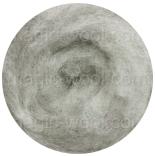 новозеландская кардочесанная шерсть (Латвия) 27мкм меланж светло серый 1002