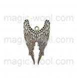 подвески металлические крылья ангела 39мм*24мм