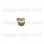подвески металлические яблоко 11мм*11,2мм