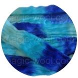 Омбрия - шерсть секционного крашения для валяния, вязания и прядения цвет №7